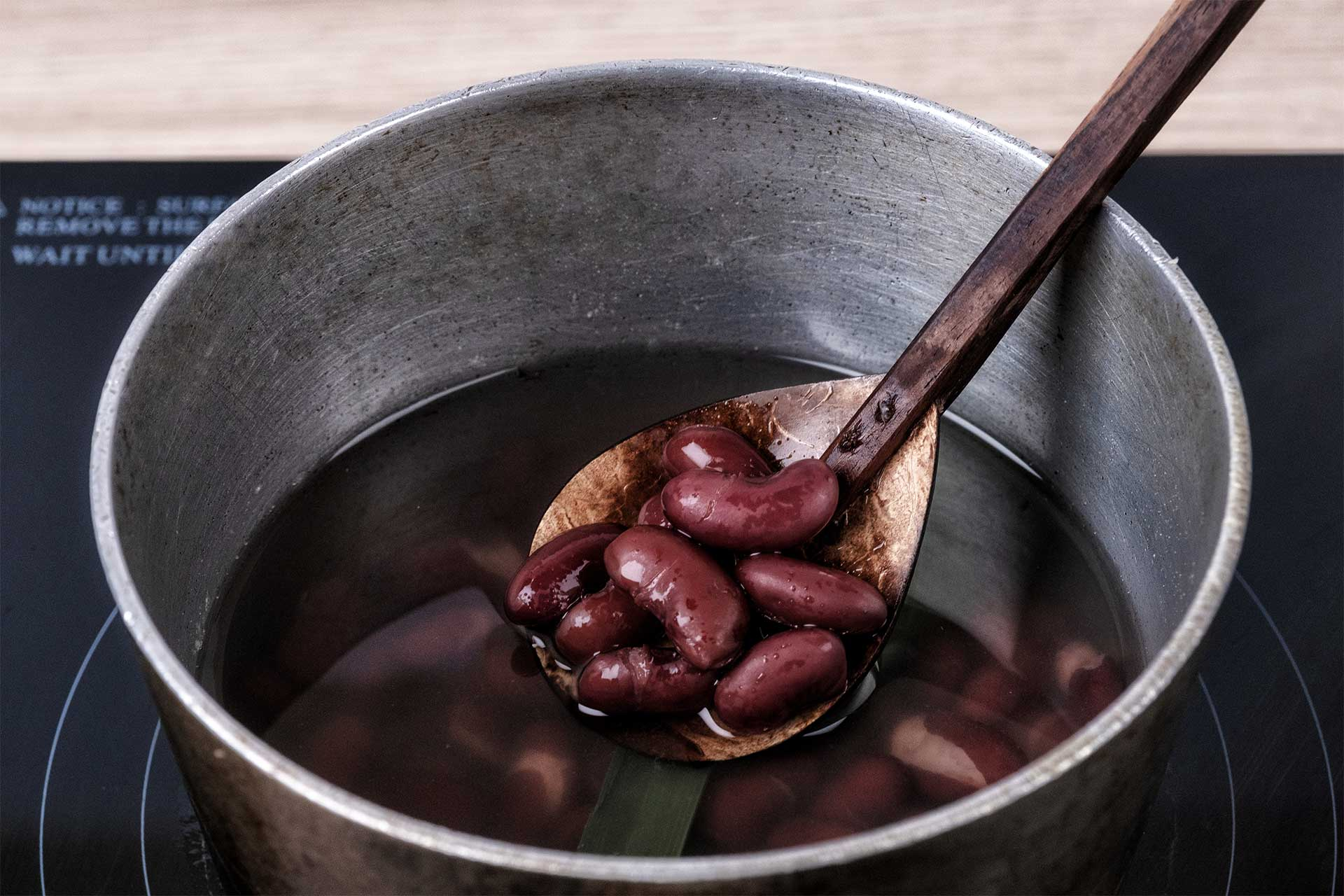 Cook the red beans