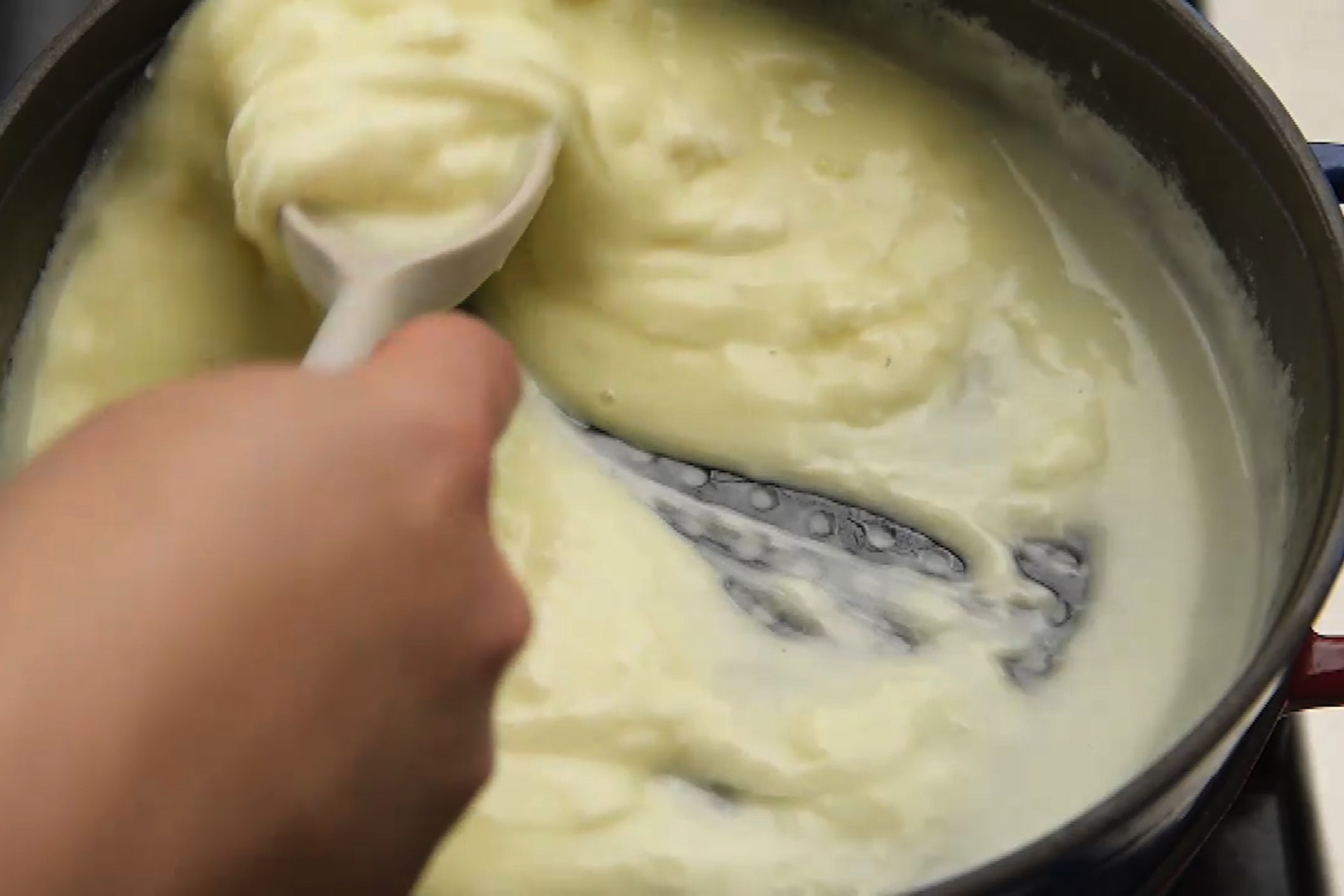 Make cheese filling
