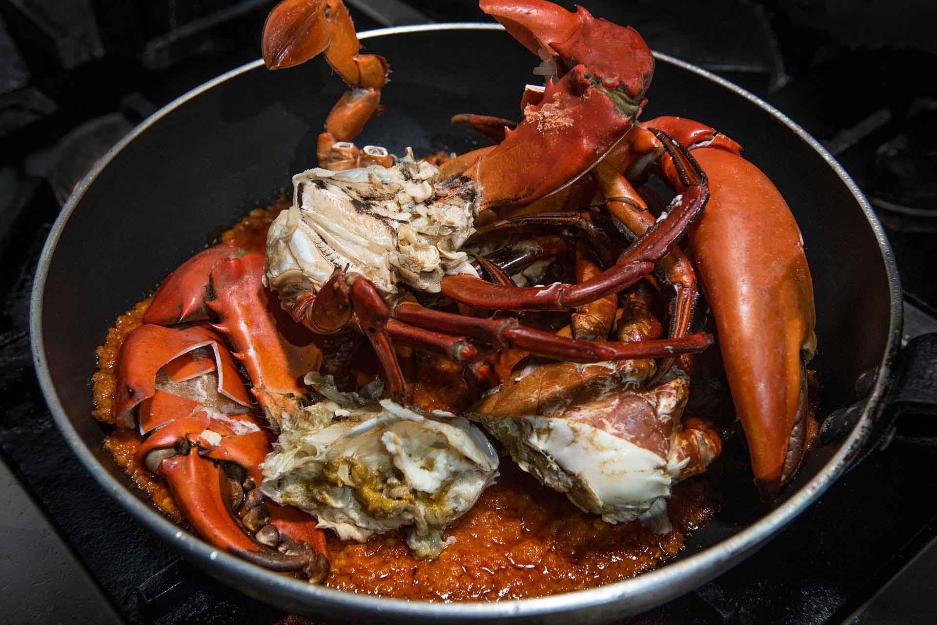 Clean & Steam Crab